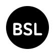 British Sign Language interpreted symbol