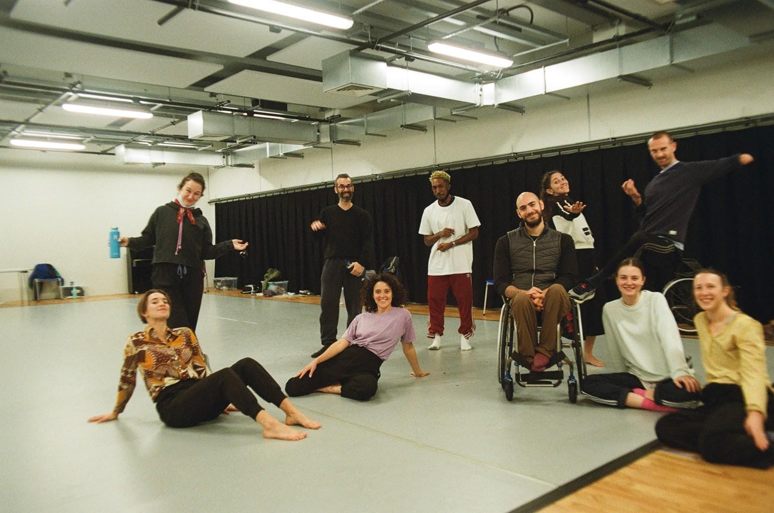 Full Company Rehearsal Last Shelter